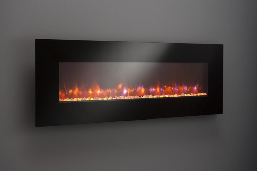 50587094 Gallery Collection Linear Wall Electric Fireplace