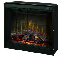 "36.5"" Dimplex Purifire Electric Fireplace Insert"