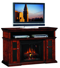 60'' Pasadena Entertainment Center Electric Fireplace