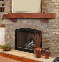 Fireplace Mantels With Corbels | Shapeyourminds.com