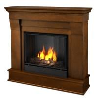 "40.94"" Chateau Espresso Gel Fireplace"