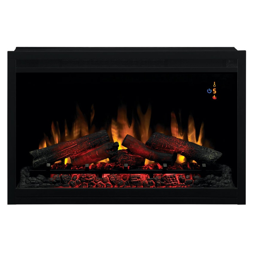 36 Builders Box Traditional Electric Fireplace Insert 110V  36EB110GRT