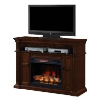 "58"" Wyatt Vintage Mahogany Electric Fireplace Media ..."