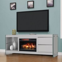 "72"" Biscayne Infrared Media Electric Fireplace"