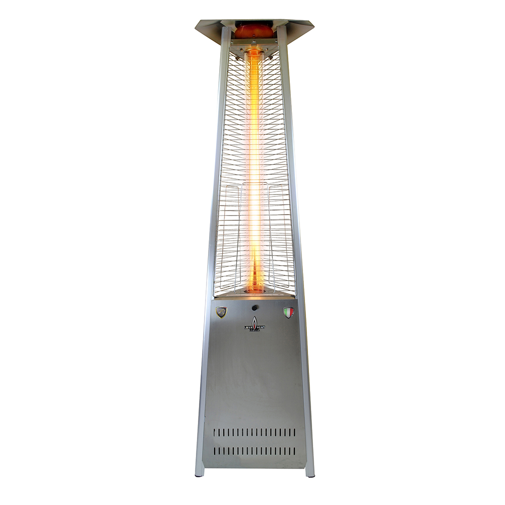 Italia Triangular 8 ft. Commercial Flame Patio Heater