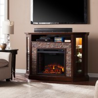 "52.25"" Redden Corner Convertible Electric Media Fireplace ..."