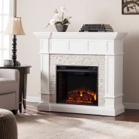 "45.50"" Merrimack Corner Convertible Electric Fireplace"
