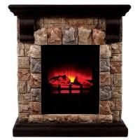 "27.25"" Vesti Faux Stone Electric Fireplace"