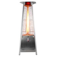 Italia Triangular 6 ft. Commercial Flame Patio Heater