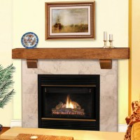 "48"" / 60"" / 72"" Heritage Wheat Finish Reclaimed Mantel ..."