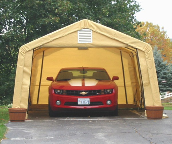12ft Wide Portable Garages Car  Truck Covers Instant Shelter Buildings