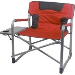 Tall Directors Chair With Side Table Target Outdoor Chairs 300, 400, 500, 600 Lb Capacity Heavy Duty, Sturdy Camping & Folding ...