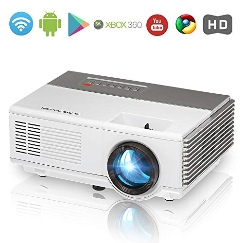 Portable LCD HDMI WiFi Mini Projector Bluetooth,Built-in