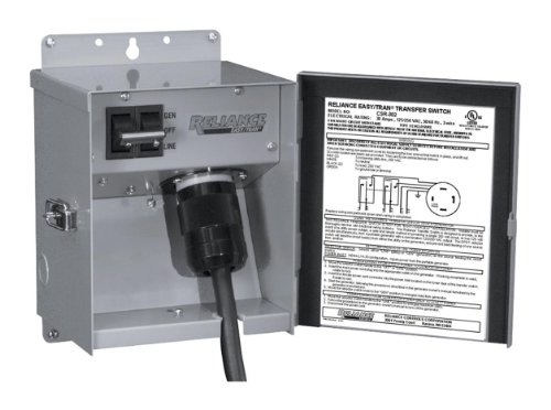 30 Amp Rv Plug Wiring Diagram Panel Box Reliance Controls Csr202 Single Circuit Transfer Switch