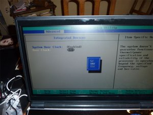 BIOS Beta Overclocking Clevo M980NU