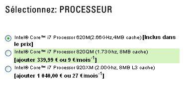 Core i7 Alienware M17x