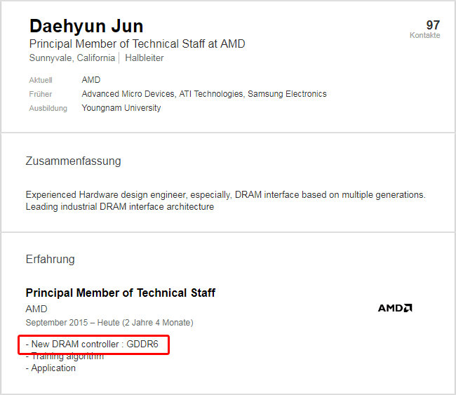AMD GDDR6