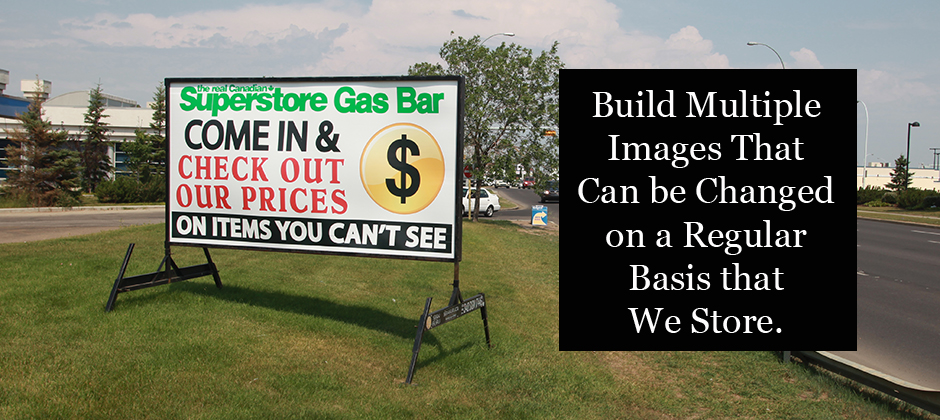 Winnipeg Portable Signs Rentals