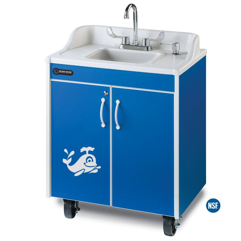 ozark river lil splasher hot cold water portable sink