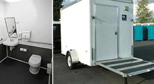 Portable Bathroom Trailer Rentals for Weddings  Special Events