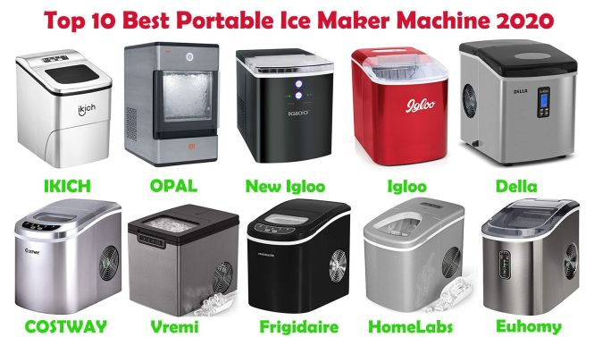 Top 10 Best Portable Ice Maker Review