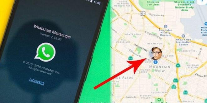 Cara Mudah Lacak Lokasi Orang Lain via WhatsApp