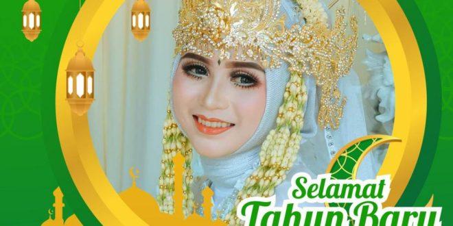 Membuat Twibbon Tahun Baru Islam 1443 h