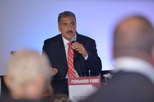 Fernando Fiore, Soccer Broadcasting Celebrity