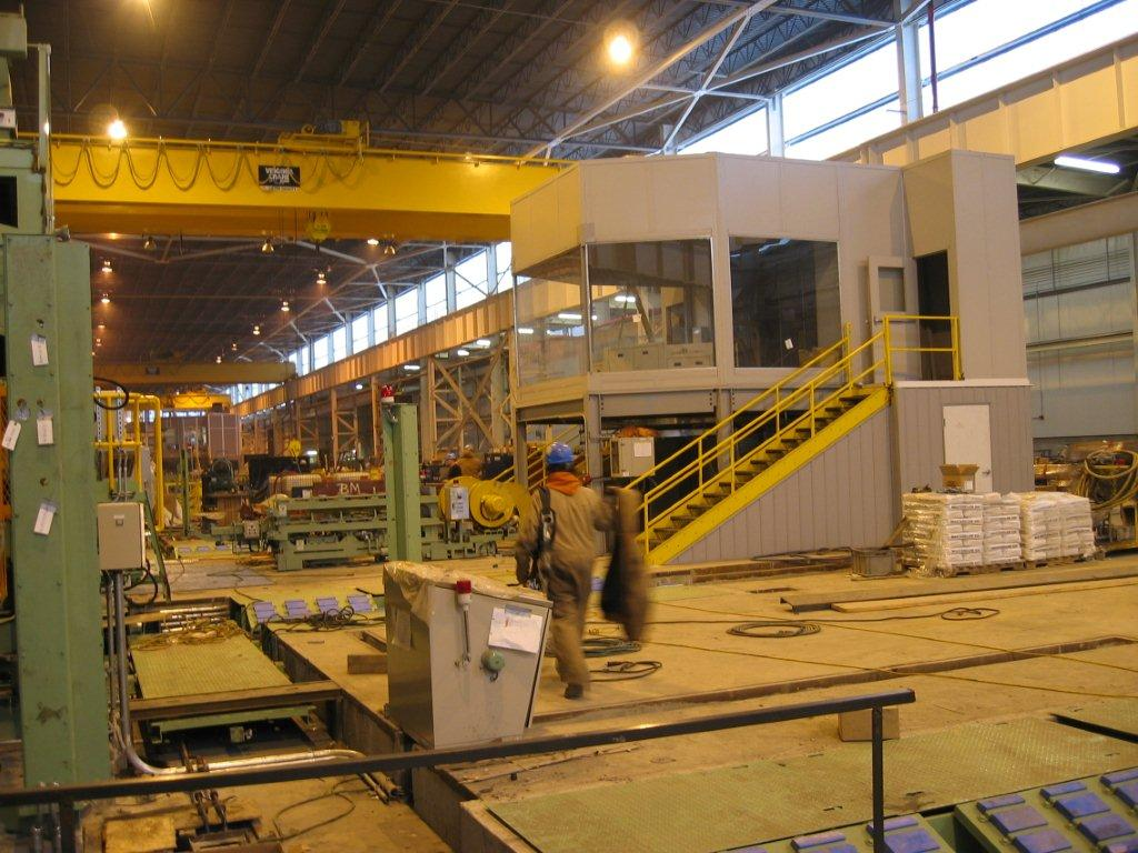 PortaFab  Industrial Control Room Case Study