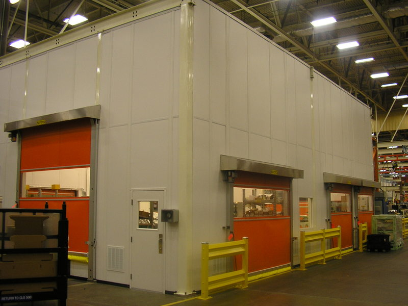 PortaFab  Class 100000 ISO 8 Cleanroom for Quality Control