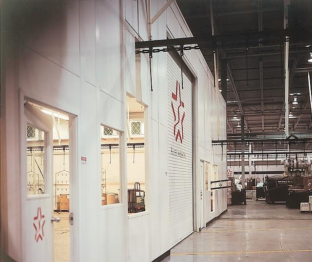 xtra tall industrial wall