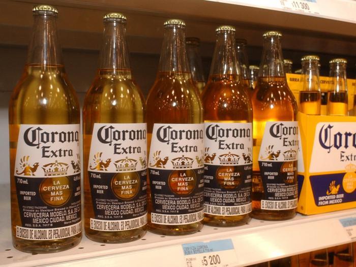 fabricante de cerveza corona