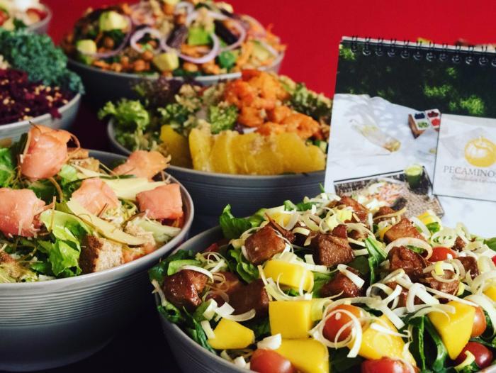 Pecaminosas restaurante de comida saludable y natural