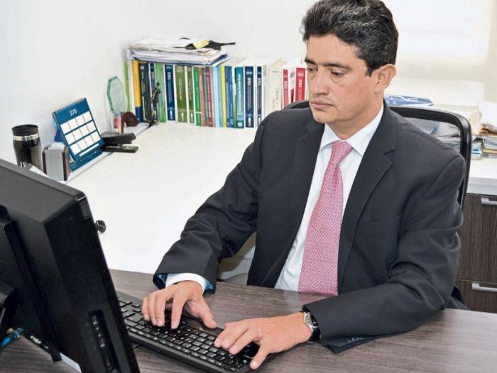 Wílmar Franco Franco, presidente del Consejo Técnico de Contaduría Pública en 2017.