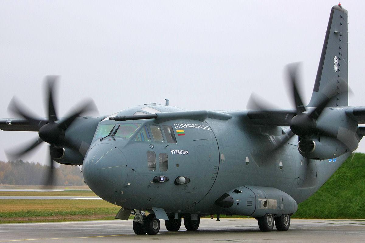 Un renfort inattendu pour Sangaris : C-27J lithuaniens!