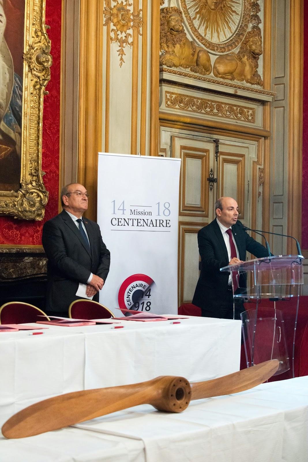 Dassault Aviation aide le mémorial de Verdun à décoller