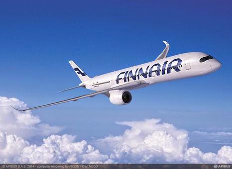 Finnair commercialise les premiers billets A350 en Europe