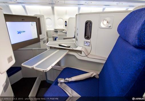 Air Algérie dévoile la nouvelle cabine de ses Airbus 330