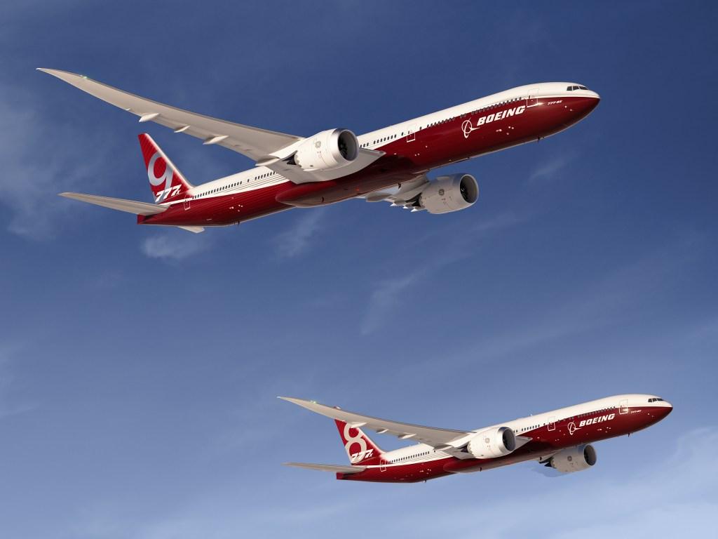 Boeing 777-8X &  B777-9X