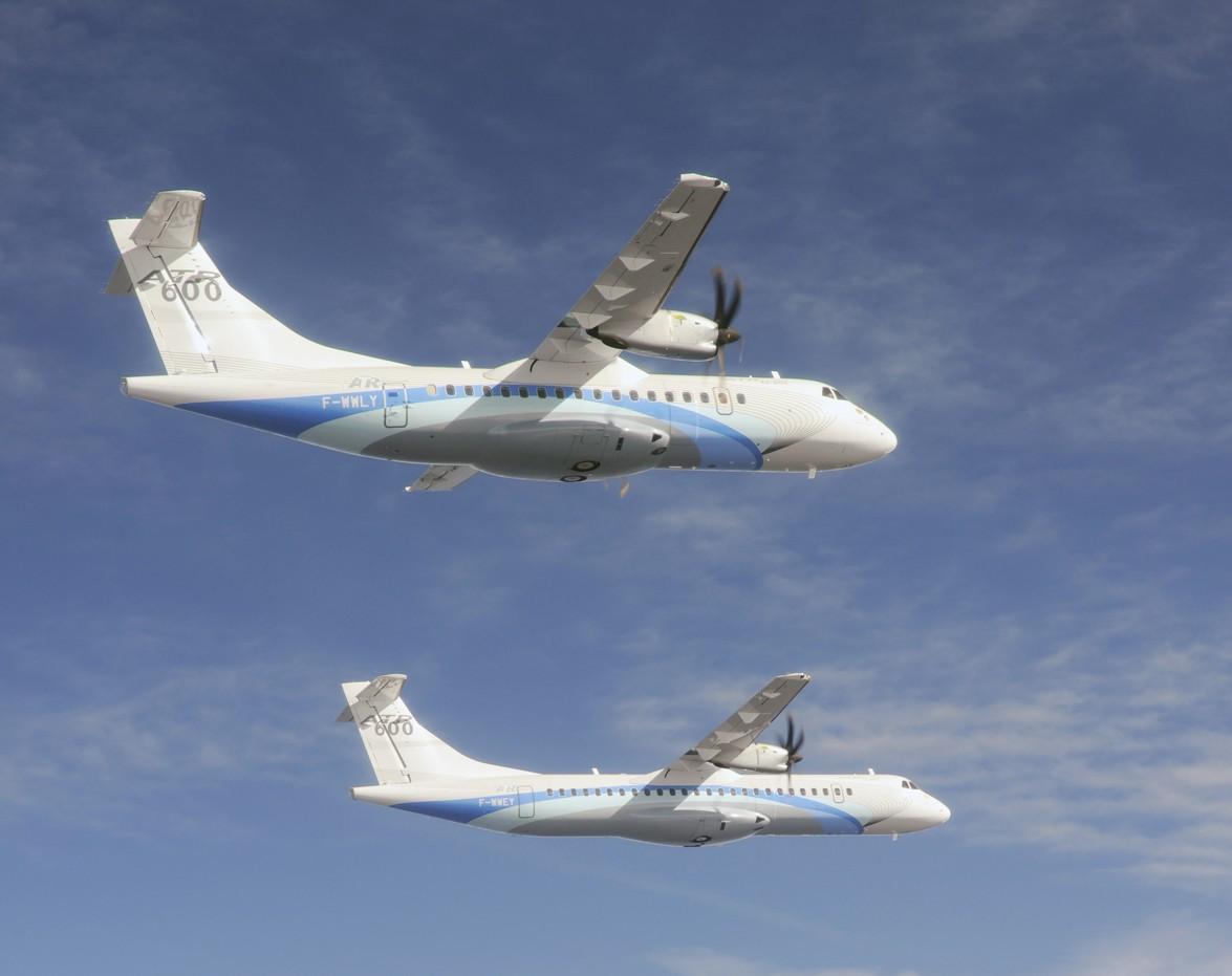 ATR annonce avoir enregistré 46 commandes