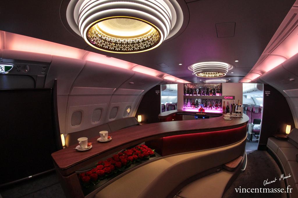 Bar A380 Qatar