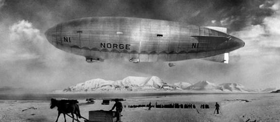 Le Norge à la conquête du Pôle Nord en 1926.