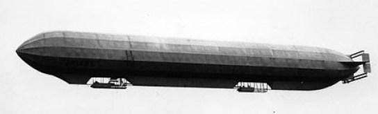 Le Spiess, premier et unique dirigeable rigide de construction française.