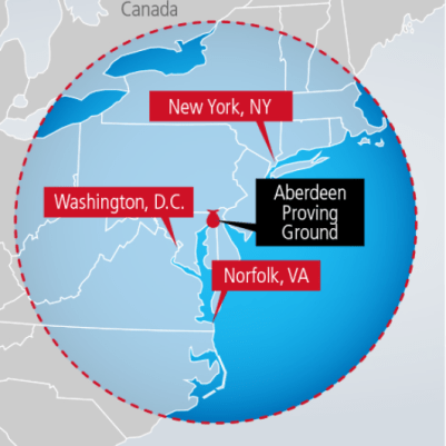 Carte de couverture du JLENS, Crédit: Raytheon