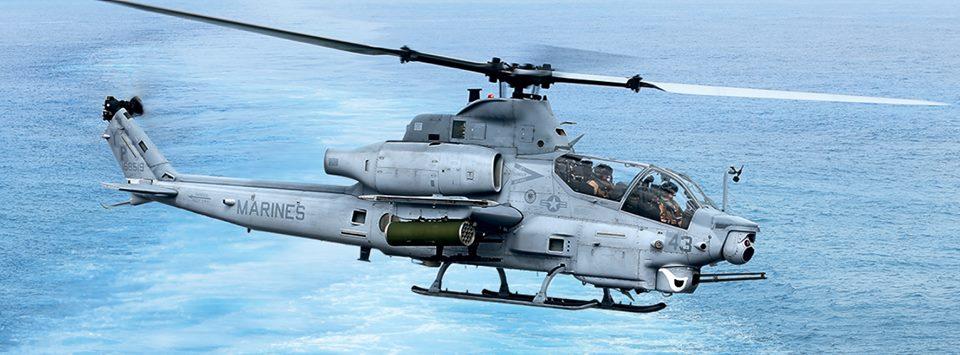 Un AH-1Z Viper de l'US Marines Corp. Crédit: Bell Helicopters