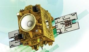 Vue d'artiste du satellite MicroSCOPE