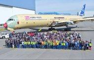 Sorti d'usine du premier A350-1000