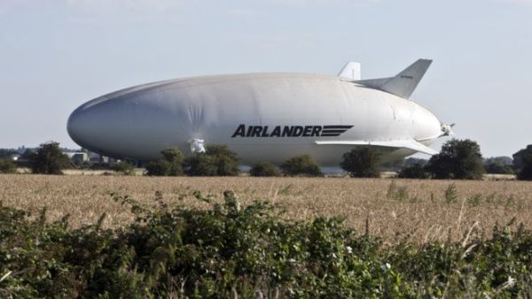 Airlander 10, Crédit South Beds News Agency