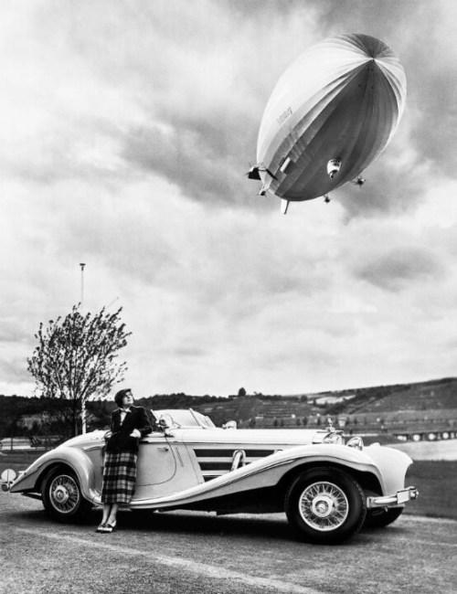 Photographie de l'Hindenburg