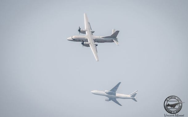 L'Antonov AN-132 présent au Bourget